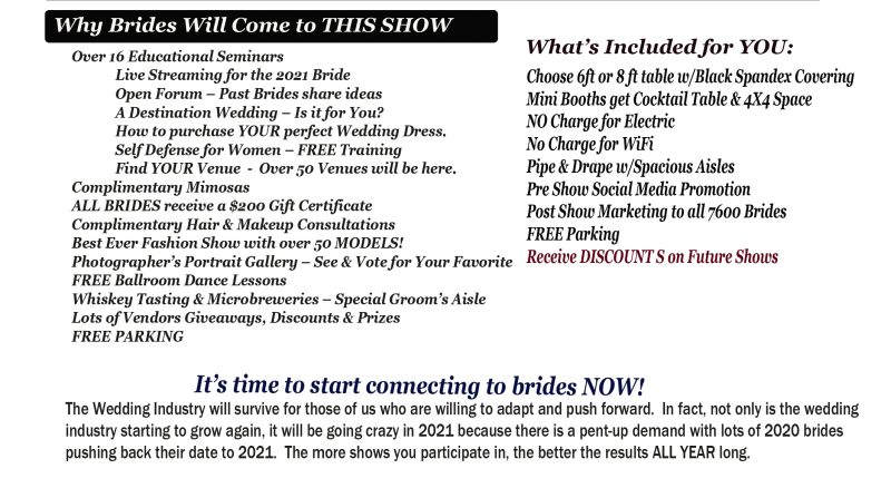 Benefits of the St. Louis Bridal Shows