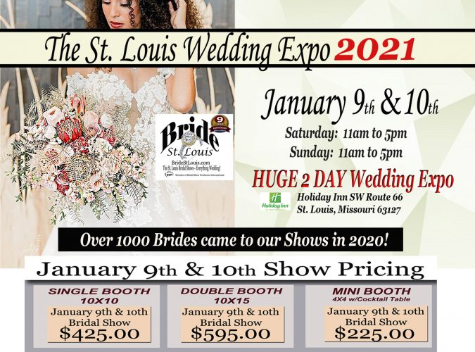 202 January Bridal Show by Bride ST. Louis - HUGE 2 Day Event