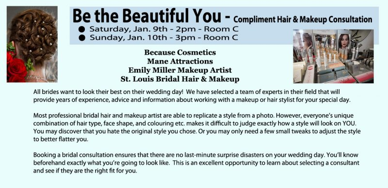 Hair and Makeup Consults for Weddings - BrildeStLouis.com