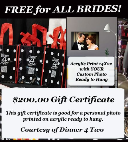 Free $200 Gift Certificate for Brides at Bridl Show