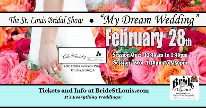 Bridal Show by Bride St. Louis February 28th 2021