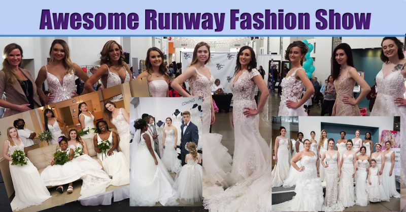 Bridal Fashion Show at The St. Louis Wedding Expo January 8th and January 9th 2022