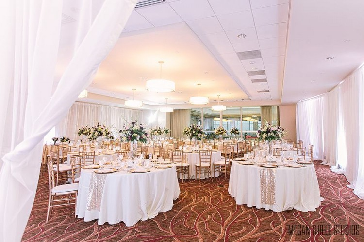 Hyatt at The Arch - Bride St. Louis Venue Profile, Gateway Terrace in White