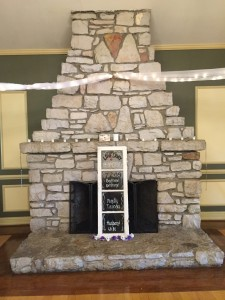 Bogey Hills Country Club Fireplace - BrideStLouis.com Venue Review