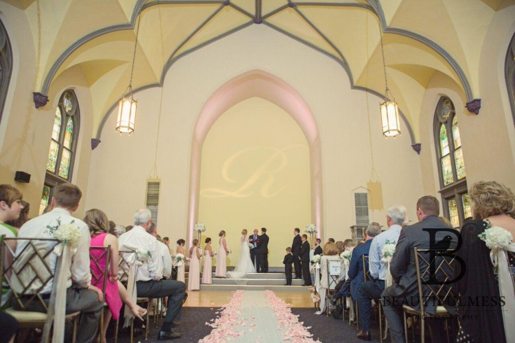 Ninth Street Abbey Ceremony- BrideStLouis.com Profile Review