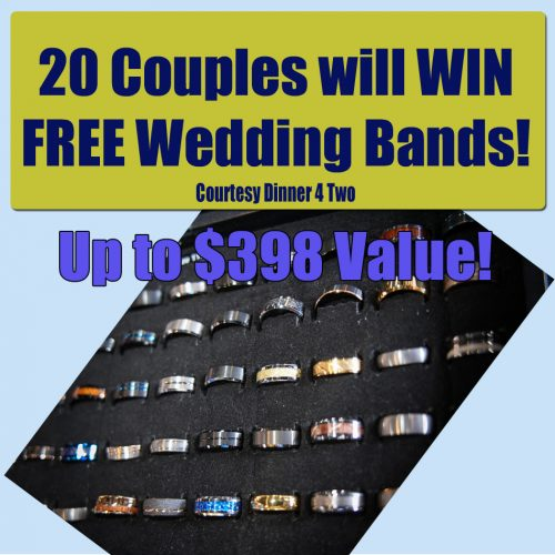 FREE Wedding Band to 20 couples at The St. Louis Bridal Show