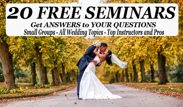 20 Wedding Planning Seminars at The St. Louis Wedding Expo